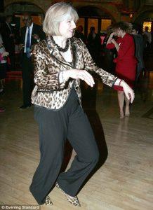Ozzy Man Reviews: Theresa May Dancing LOL! :) Theresa-218x300